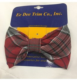 SF Bow Tie Barrette, Plaid
