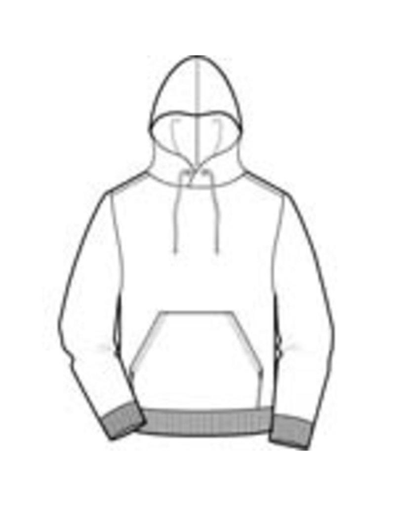 JD Fleece Pullover Hooded Sweatshirt