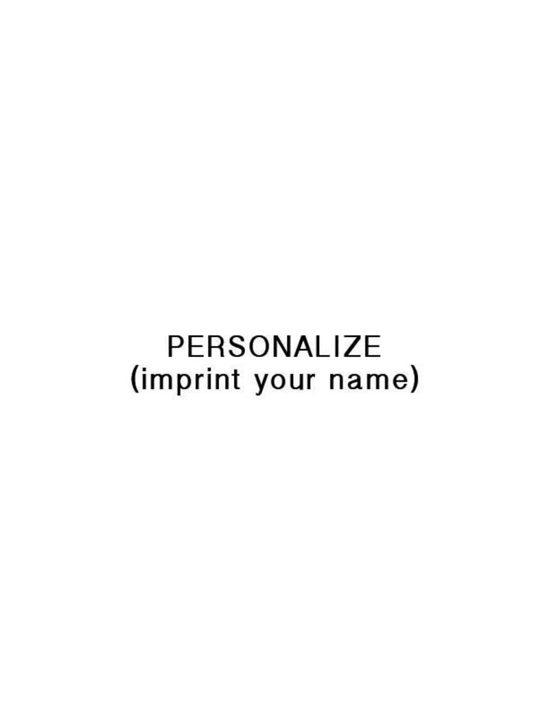 Personalization, LAST NAME
