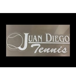 JD Tennis Decal