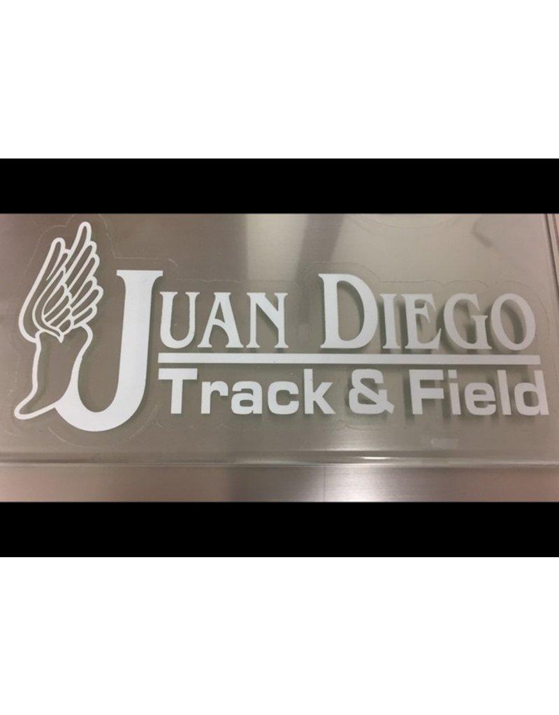JD Track & Field Decal