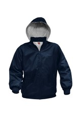 JD Water Repel Coat Detachable Hood, Navy