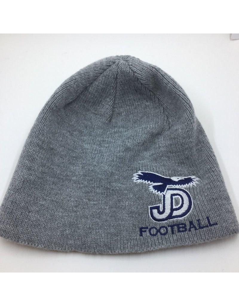 Beanie - JD Football Gray Knit