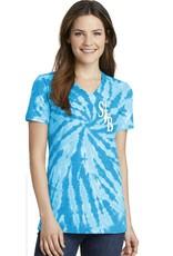 SJBM Turquoise Tie-Dye Tshirt, Unisex