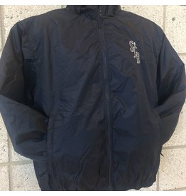 SJB Water Repel Coat Detachable Hood, Navy