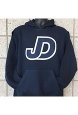 JD Hooded Pullover Sweatshirt