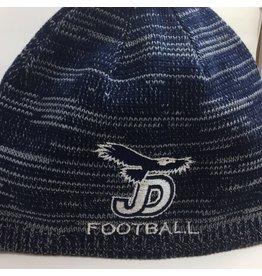 JD Football Navy/Grey Marbled Beanie