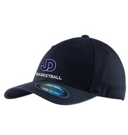 Basketball - JD Cap, navy embroidered hat