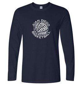 Basketball - Men's Softstyle Long Sleeve T-Shirt