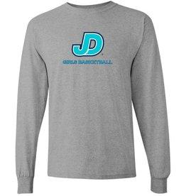 Men's long Sleeve JD Girls Basketball Tee
