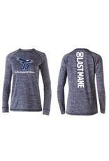 Women's long Sleeve JD Girls Basketball Tech Shirt