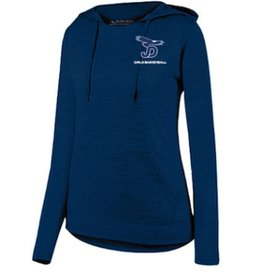 Basketball - JD Girls Basketball Ladies Shadow Tonal Heather Hoody