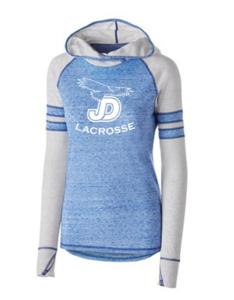 Women's LAX Advocate Hoodie with JD Lacrosse Logo
