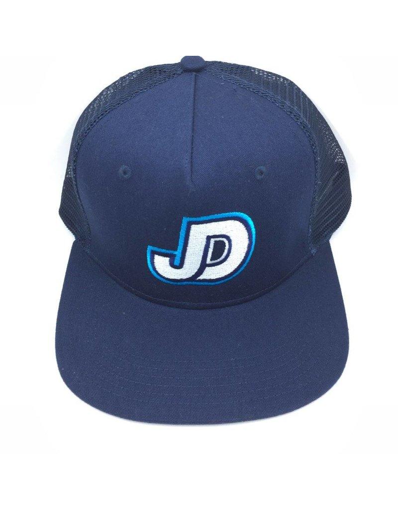 Hat - JD Mesh Cap, Flat Brim, adjustable