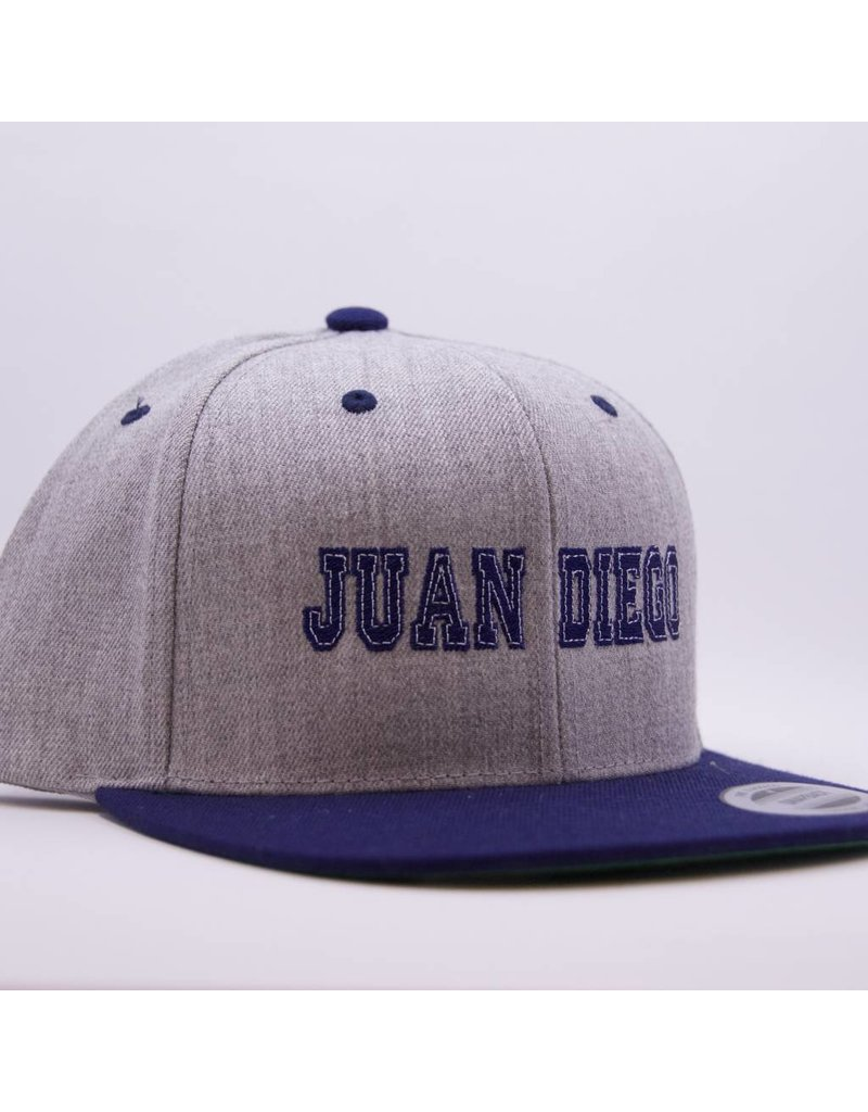 Hat - JD Vintage Snapback Cap, Flat Brim, adjustable