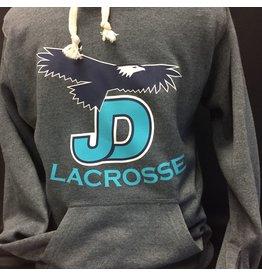 JD Lacrosse Hooded Pullover Custom Sweatshirt