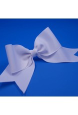White Ribbon Bow Ponytail