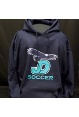 JD Hooded JD Soccer Pullover Sweatshirt