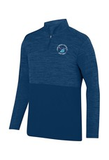 Softball Embroidered Navy Quarter Zip