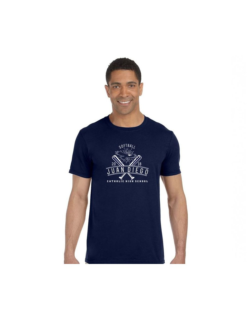 2018 Softball Navy Men's Tee