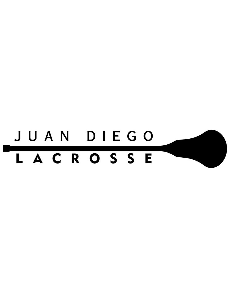 JD Lacrosse Decal - white