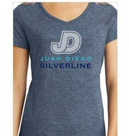 SilverLine - Custom Ladies V-Neck Shirt