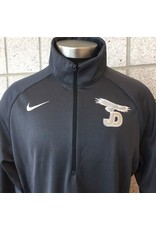 Nike 1/4 Zip Jacket zip, JD/Eagle on right chest
