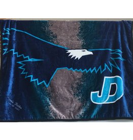 Custom Embroidered JD Plush Blanket
