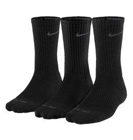 SOCK - Nike 3pk Dri-Fit 1/2 Crew SockS