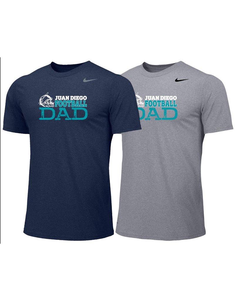 JD Nike Football Dad's Tshirt - adult sizes