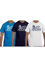 Unisex Volleyball Tshirt with logo on chest