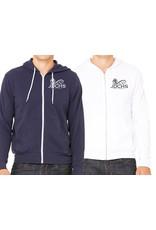 JD Volleyball Unisex Full Zip Custom Hoodie