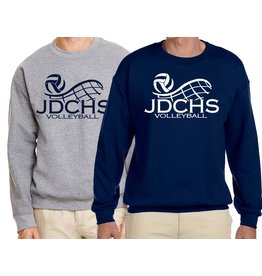 Volleyball - JD Volleyball Custom Unisex Sweatshirt