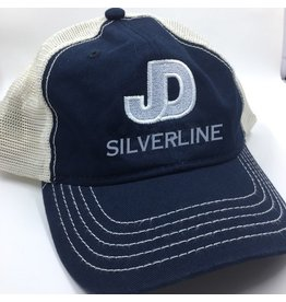 JD Silverline Soft mesh, enzyme-washed twill  cap