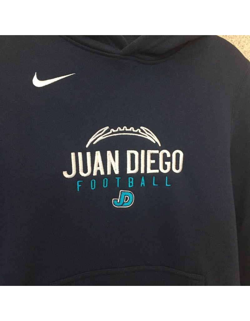 SWEATSHIRT - JD Football Nike Custom Sweatshirt in Navy