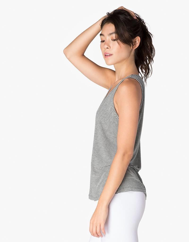 Beyond Yoga Striped Easy Does It Tank