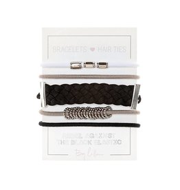 By Lilla Mini Stack Hair Ties - Girls Night Out
