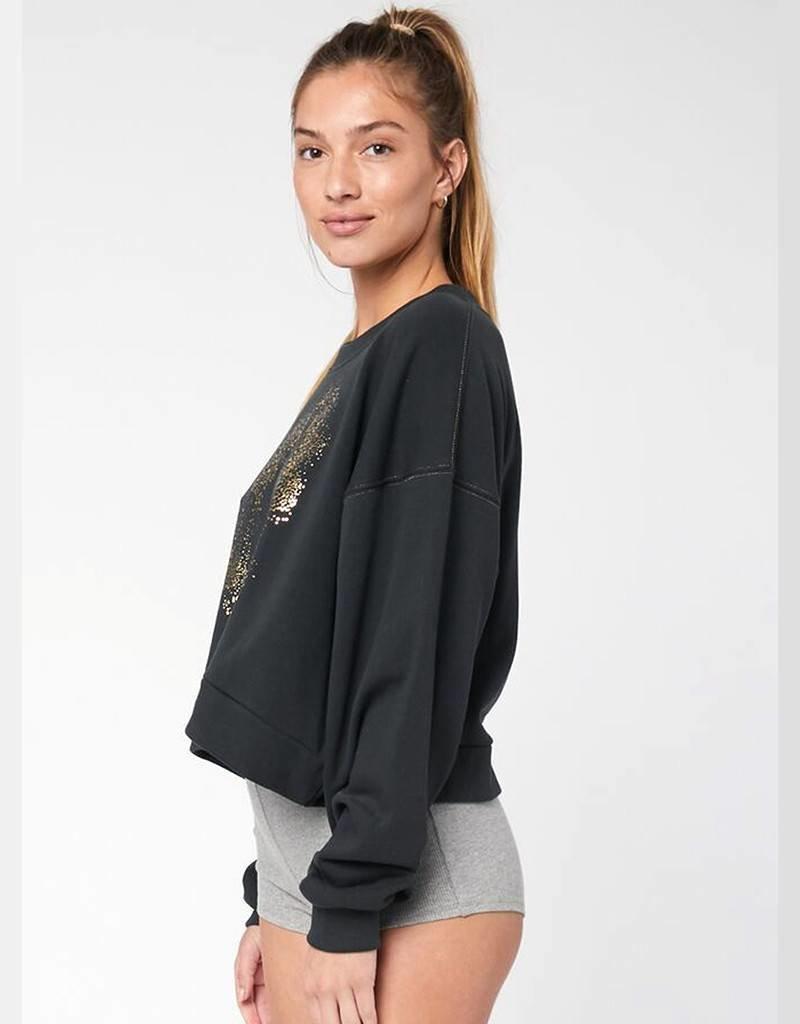 Spiritual Gangster Made of Stars Billowed Crew Sweatshirt