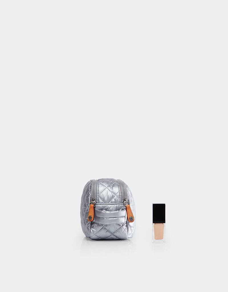 MZ Wallace Sam Cosmetic Case - Tin Metallic