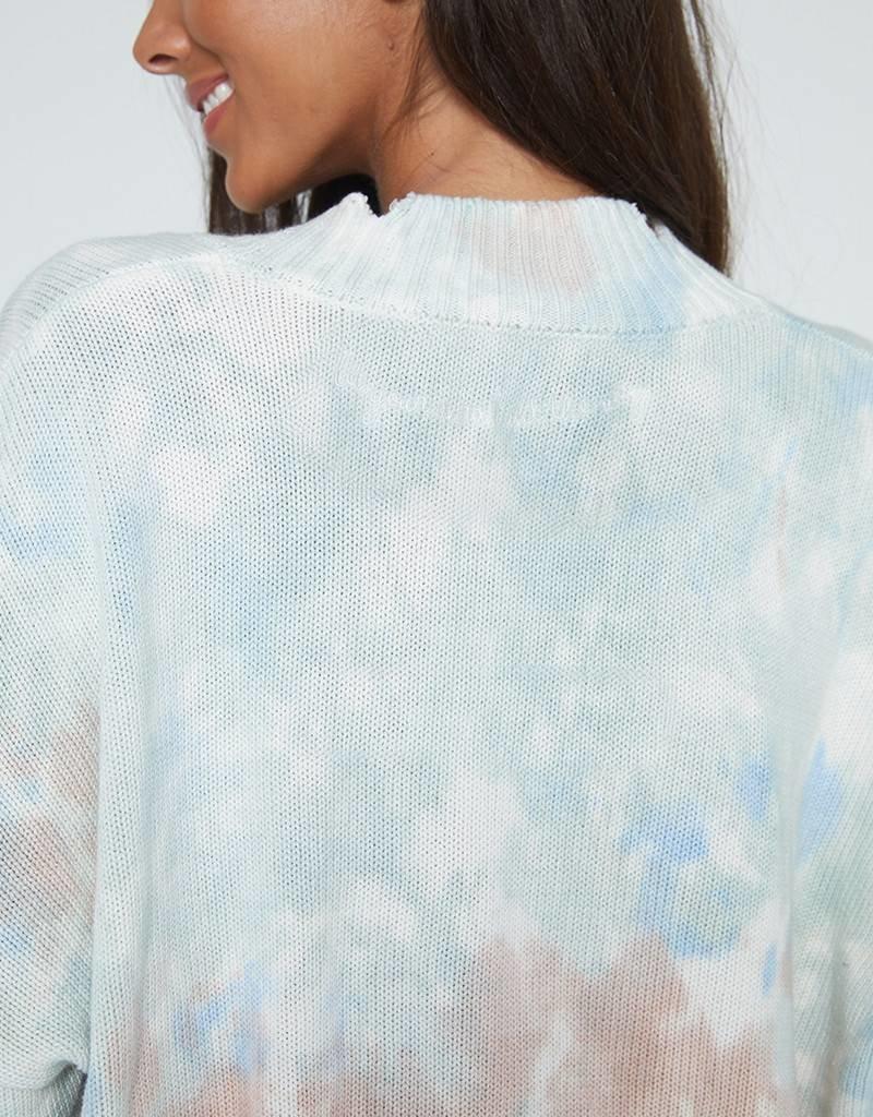 Spiritual Gangster Reflection Tie Dye Sweater
