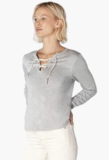 Beyond Yoga Lace Up Pullover