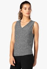 Beyond Yoga All About It Split Back Tie Tank