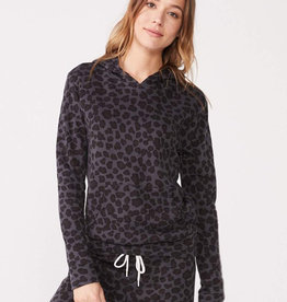 MONROW Leopard Pullover Hoody