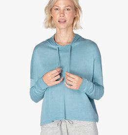 Beyond Yoga Beach Worn Cropped Pullover