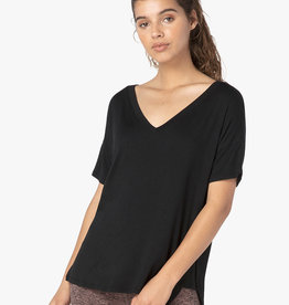 Beyond Yoga Side Splits V Neck Tee