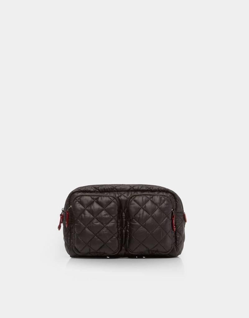MZ Wallace Savoy Cosmetic Case - Black
