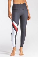 Wear It To Heart Side Stripe HW Legging