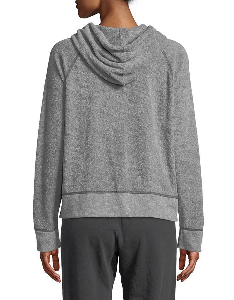 MONROW Reversible Terry Pullover Hoody