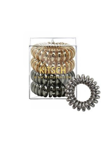 Kitsch Metallic Hair Coils