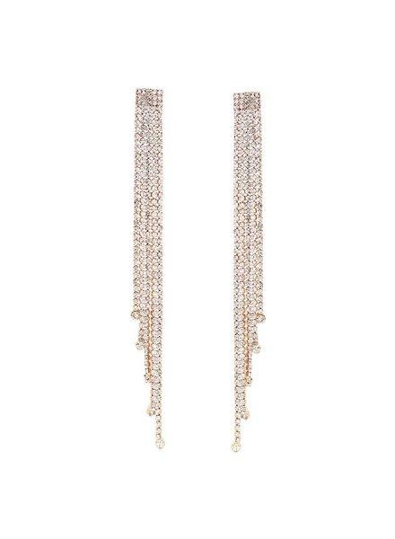 Mint + Major Waterfall Earrings